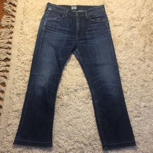 Citizens of Humanity Cropped Flare Jeans